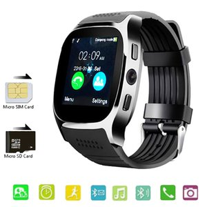 T8 Bluetooth Smart Watch With Camera Support SIM TF Card Men Women Call Sport Smartwatch For Android Phone PK Q18 DZ09 V8 Y1 A1