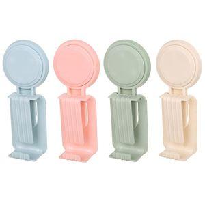 Utility Plastic Vacuum Sucker Suction Cup Hook Decorative Kitchen Bathroom Strong Hanger Suction Suckers Cups Multiple Color