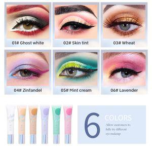 DEROL Eye Shadow Palette Eye Primer Concealer Glitter Comestic Waterproof Matte Shimmer Eyeshadow Long-lasting Makeup TSLM2
