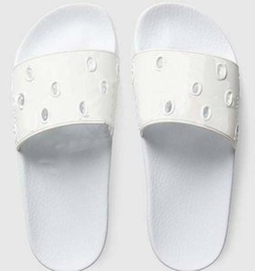 2021 Venta Bien Hombres Mujeres Slide Sandals Zapatos de Mujer Slide Summer Moda Ancho Plano Resbaladizo Sandalias Gruesas Slipper Flip Flozs Shoe02 02