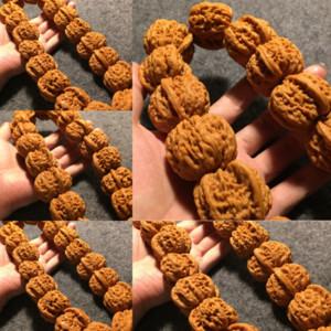 8U3 машины кисти покрыты белый лев большой шарик CH_DHGATES браслет браслет браслет браслет удерживаемый ореховый розарий будда бусины маленький