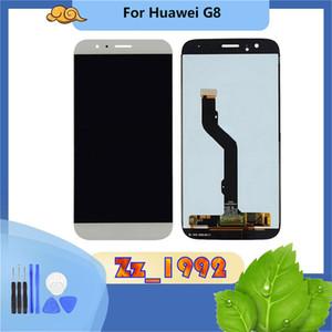 """5.5"""" Superqualität Display für Huawei Ascend G8 LCD Display Touchscreen Digitizer Montage Ersatz Schwarz Weiß"""