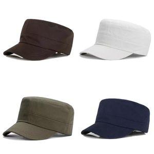Saf Renk Düz Çatı Şapka Kumaş Yaz Güneş Kremi Güneşlik Kap Erkekler Erkek Açık Başlık Spor Seyahat Koşu 5 3XF N2