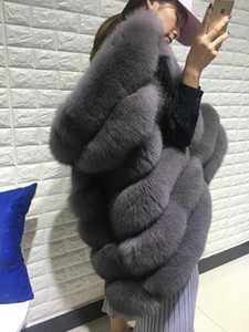 Real Vest For Women's Woman Natural Waistcoat Hooded Genuine Leather Fur Coat Jacket Plus Size 5XL1