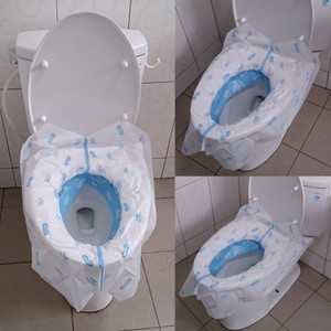 Disposable hotel airport cushion paper seat toilet travel supplies LJ201110