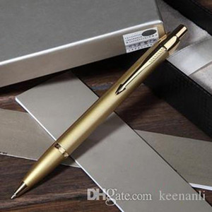 Free shipping Metal Gold Ball Pen Set School Office Supplies Ballpoint Pen Stationery Roller Ball Signature Pen Serious Ballpoint pens