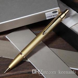 무료 배송 금속 골드 볼 펜 세트 학교 사무용품 볼펜 편지지 롤러 공 서명 펜 심각한 볼펜