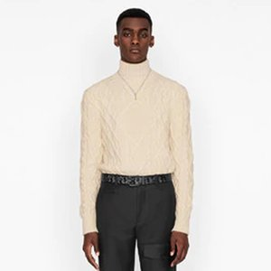 Best Half High Collar Sweater Autumn Winter Knitting Pullover Men Women Sweater Street Fashion Crewneck Sweatshirt Hoodies HFYMMY089