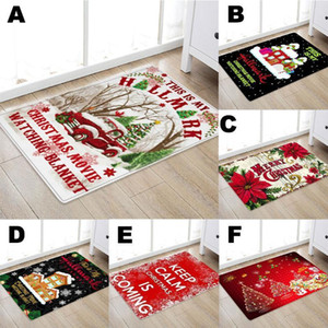 Kitchen Doorway Bathroom Carpet Floor Mat Print 50x80cm Christmas halloween decorations for home navidad