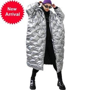 Z-Zoux Parka con capucha Outwear Outway Largo Chaqueta Abrigo Mujer Chaquetas de invierno de gran tamaño Parkas 2020