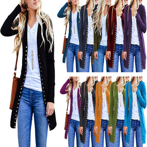 New And Hotsale Women High Quality Long Sleeve Knitted Cardigan Winter Coat DHL
