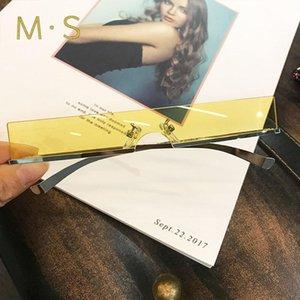 MS Kadın Güneş Gözlüğü 2020 Dekorasyon Klasik Gözlük Kadın Serin Güneş Gözlüğü Orijinal Marka Tasarımcısı Mensun Gözlük Moda
