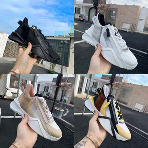 Uomini Flow Sneakers Donna Corridore Scarpe da ginnastica Designer Scarpe Moda pelle scamosciata Scarpe a bassa scarpe Tessuti in pizzo-UO Scarpe Casual Multicolor con scatola 259