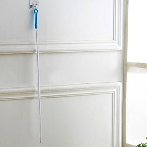 Cuisine Salle de bain Engins De Nettoyage Brush Busoufs Baignure toilette Accueil Bendable Dredge Tuyau Tuyau Snake Tools H WMTGVC