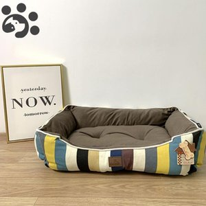 Design Winter Soft Dog Bed for Large Small Dogs Bed House Kennel Plush Warm Big Dog Beds Sofa Accessories Pet Dogs Beds 2020