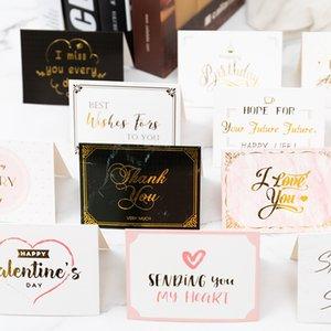 Postal del día de San Valentín con el sobre de gracias feliz cumpleaños deseo que todas las mejores tarjetas de felicitación DWD3001
