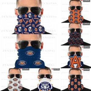 Bandana-Schild NCAA-Nacken-Gamer-Auburn-Schal Tiger nahtlose Gesichtsmasken UV-Schutz für Motorrad-Radfahren Reiten Laufbänder HDBA