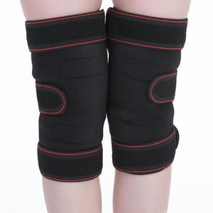 One Piece Dropshipping Self-Heating Warm Kneecap Sports Riding Kneelet Adjustable Elastic Lengthened Knee Cap Bandage Customized