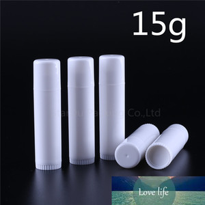 6pcs 15g Lipstick Tube Lip Balm Containers Empty Cosmetic Containers Lotion Container Glue Stick, 15ml Clear Travel Bottle
