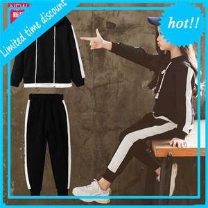 Li Xiantong's Wear Primavera e Outono 2021 New Korean Children's Sports Girls 'Two Peece Terno