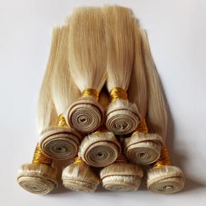 Vogue Malaysian Brazilian Human Hair Short Bob Style 8-18inch 24# Golden Hot selling Beautiful European Indian Hair Weaves Factory supply