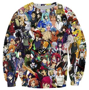 My Hero Academia Long Sleeve Tees Anime Pullover 3D Print Hoodie Chic Sweatshirt Haging Out Coats Outerwear New Design Tops Mens Jumpers