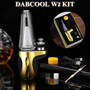 DABCOOL W2 Enail KIT Hookah Wax Concentrate Shatter Budder Dab Rig vape Kit With 4 Heaat Setting vs SOC 100% Authentic