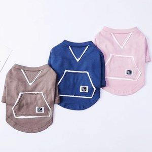 Bahar 2021 Yeni Güz Kış Hoodie Köpek T-shirt Teddy Bear Mücadele Köpek Giysileri Pet Giyim Sıcak Satış