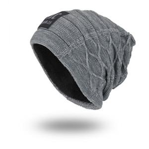 Joymay Brand New NC Winter Autumn Beanies Hat Unisex Warm Soft Skull Knitting Cap Hats Touca Gorro Caps For Men Women WM058