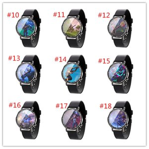 2020 NEW Arriving 40 Style Fort Night Watch Fortnite Competitive shooter Luminous Touch creative Cartoon watches student watch DHL Free