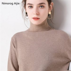 Autumn Winter sweater women turtleneck cashmere sweater knitted pullover women sweter fashion sweaters new Plus Size tops 201221