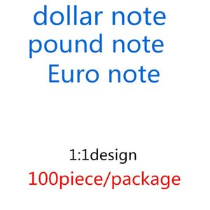 Billet UK Money Falke Bar Atmosfera Faux US Best sterlina Dollaro 10 20 50 Euro Bambini copia denaro Prop 02 Tool Tool Learning CNPMR