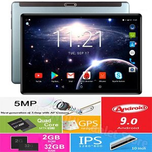 2020 New Android 9.0 10 inch Tablet Dual SIM Dual Camera Tablet 32GB ROM Wifi Bluetooth Android Tablets PC with GPS Phone Call1