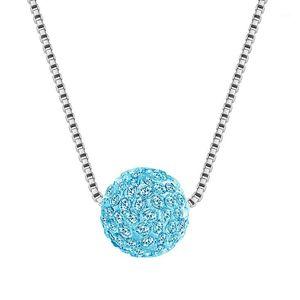 Korean Version of the Beautiful Ornament Shambhala zuan qiu Pearl Necklace Clavicle Chain1