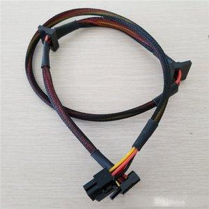 10pcs / lote Modular PSU 6Pin a 3 Port SATA POWER CABLE 18AWG CONDICIONES 80CM PARA NP TP ECO Series