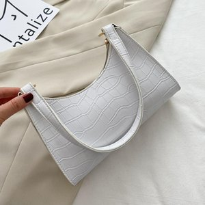 2021 Women Totes Retro XB25 Bags For Mini Fashion Handbag Soft PU Female Casual Subaxillary Bag Leather Vintage Baguette Shoulder Bag Ominw