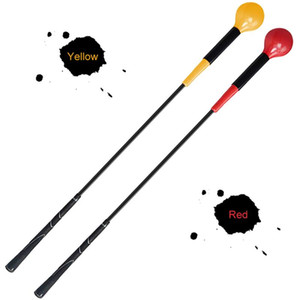 115cm Golf Stick Swing Training Aid Anti-slip Rubber Handle Glass Fibre Golf Warm-up Rod Practices for Adult Equipment Hot