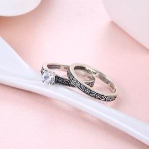 Fashion Trendy Sterling Silver Ring Couple Ring Bracelet Special Interest Light Luxury New Accessories