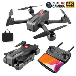 RC Quadcopter Drone With 4K HD Wide Angle 50x zoom Camera Altitude Hold WIFI Video Live FPV Optical Flow Foldable RC Dron Toy