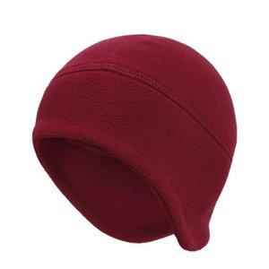 Polar Fleece Earflap Warm Hats For Mens Womens Winter Snow Ski Cycling Cap Slouchy Outdoor Sport Beanies Solid Color jllDCS bdecoat