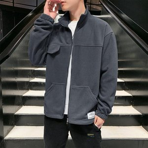 Флисовые куртки мужские плюс размер повседневная куртка мужчины бомбардировщик мужская верхняя одежда мужские куртки и пальто мужской куртку для мужской одежды 5XL