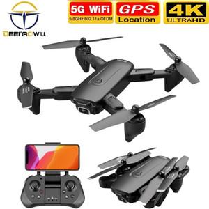 Deepaowill F6 GPS-DRONE 4K-Kamera HD FPV-Drohnen mit Follow Me 5g WiFi Optical Flow Faltbarer RC Quadcopter Professional DRON 201208