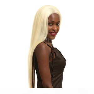 Hot Sell Blonde Human Hair Wig 613 Lace Front Wig 13*4 13*6 Inch Lace Real Natural For Women Factory Direct 8-24inch