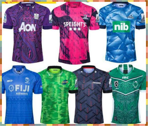 2020 Fiji Mario Hurricane Crusades Highland Chief Blues Super Rugby League Nrl Jersey 2020 Mustang Training Wear Mens Camisa Terno: S-5XL
