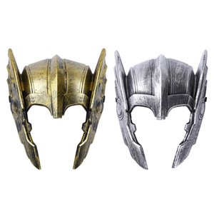 Men Halloween Costume Accessories Vintage Warrior Face Cover Masquerade Carnival Cosplay Party Festival Rave Clothes Masks
