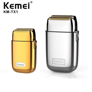 Kemei All-metal Electric Shaver Men Electric Razor Rechargeable Beard Shaver Floating Hair Trimmer Face Care Shaving Machine