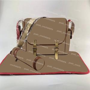Trendy Baby Çanta Değişen Mat ve Yalıtımlı Şişe Kılıfı Bezi Çanta Kaplamalı Tuval 3 adet Set Bezi Değişen Çanta Satış Için