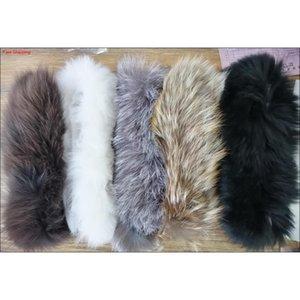 Mujer piel sombrero hembra real zorro piel sombreros adulto niña cálida otoño invierno diadema diadema 10pcs qyljxk beauty888