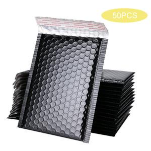 50 stücke Black Blase Umschlag Mailer Tasche Folie Bubble Mailer Für Geschenk Verpackung Hochzeit Favor Bag Mailing Umschläge Mailer Taschen H BBYCPO