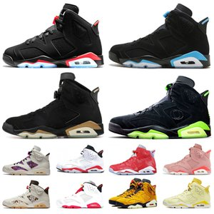 air retro retros jordan 6s Zapatillas zapatos airretrosJordan6 Chaussures de basket-ball top olympique Oreo Sport Bleu DMP Angry bull Black Infared Athletic Sneakers